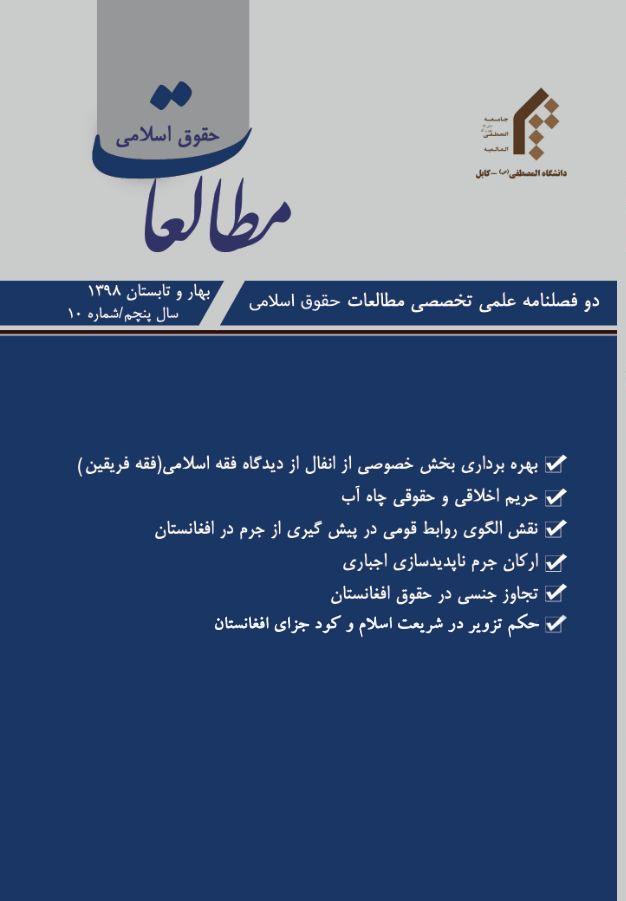 مطالعات حقوق اسلامی